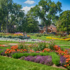 Beautiful Gardens in Washington Park in Denver Colorado 5