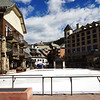 Ice Skating Rink at Park Hyatt Beaver Creek in Colorado