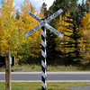 Railroad Crossing Near Breckenridge CO