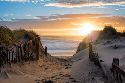 Nauset Beach glare