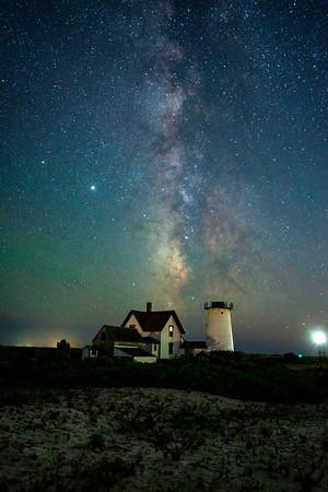 Marsh and stars