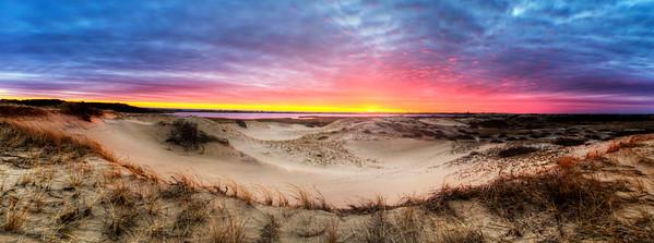 Ptown Dunes Panorama