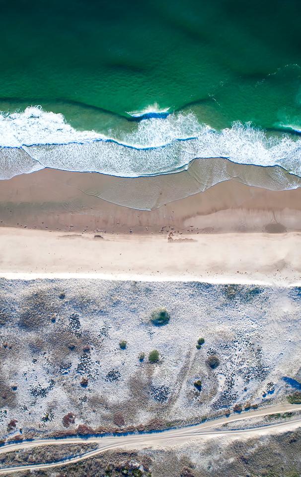 Nauset Beach Aerial View
