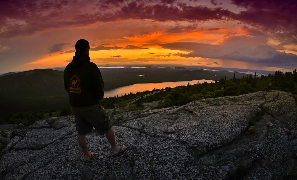 Cadillac Mountain , Arcadia National Park