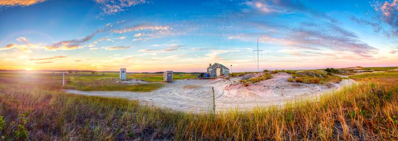 sunset outer beach