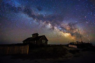 Stars Outer beach milky way