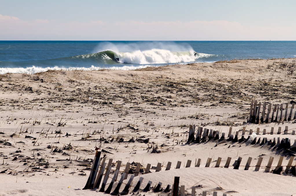 Surfing New England .