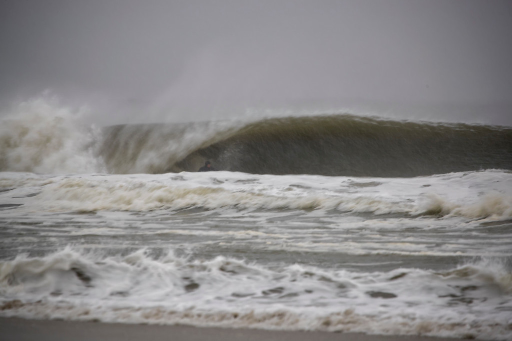 nj waves Day 5 storm