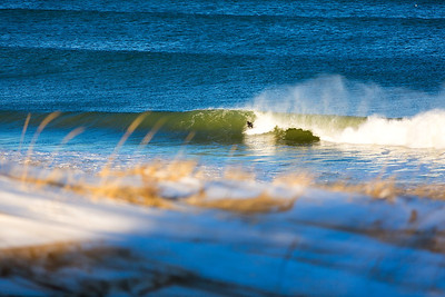Surfing  at Cape Cod,USA  Date: Jan 2014 Time: 04:11.PM Model: Canon EOS 5D Mark III Lens: EF70-200mm f/2.8L IS II USM