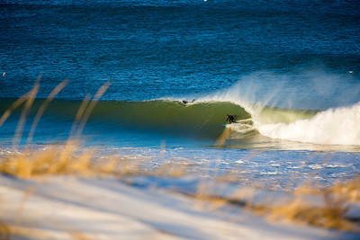 Surfing  at Cape Cod,USA  Date: Jan 2014 Time: 04:13.PM Model: Canon EOS 5D Mark III Lens: EF70-200mm f/2.8L IS II USM +1.4x