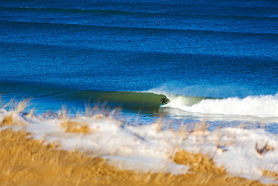 Surfing  at Cape Cod,USA  Date: Jan 2014 Time: 03:54.PM Model: Canon EOS 5D Mark III Lens: EF70-200mm f/2.8L IS II USM