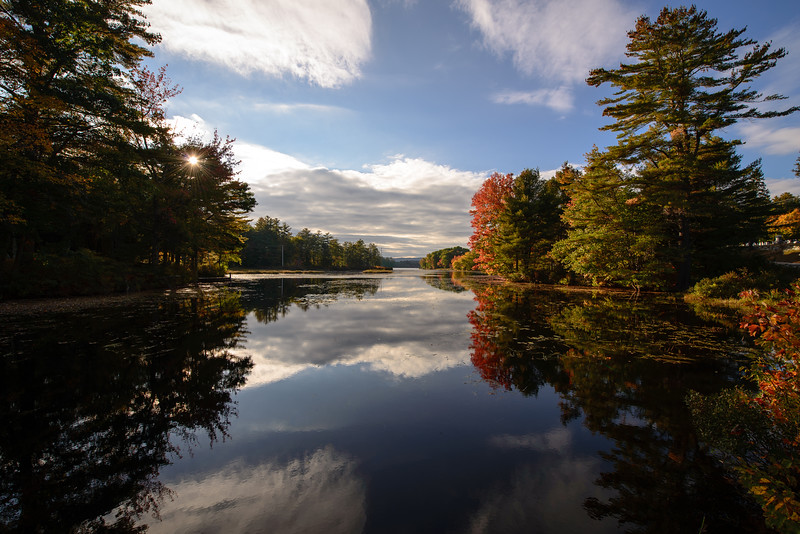 Reflections on Lake Wicwas