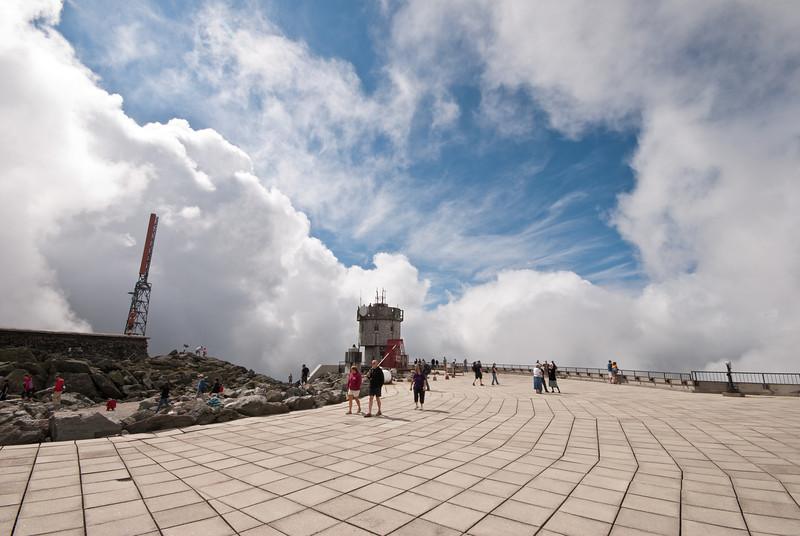 Mount Washington Observation Platform