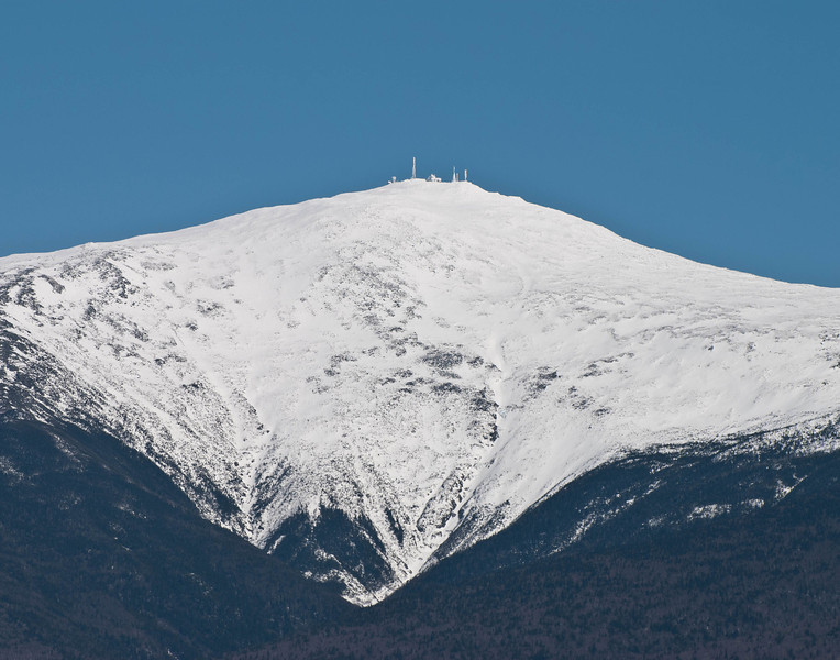 Mount Washington weather station, March 2011