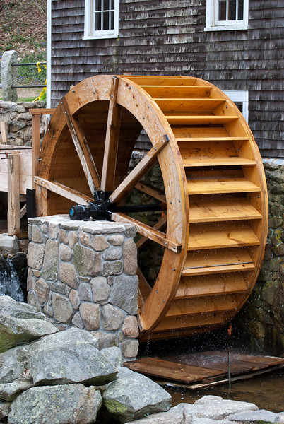 The Old Grist Mill.