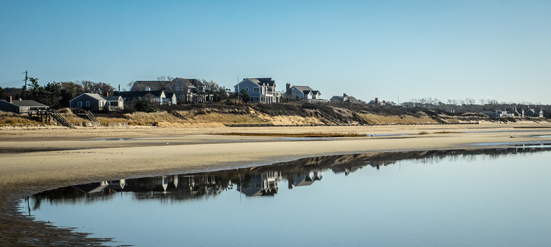 Kingsbury Beach reflections.