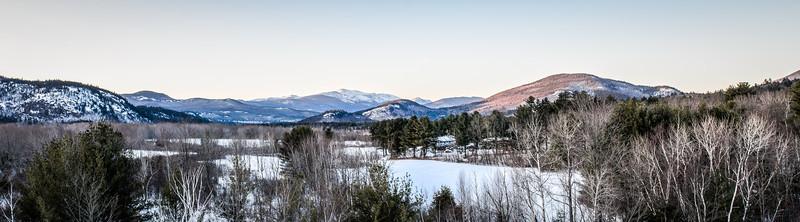 View into the White Mountains