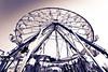 Ferris wheel at Sandwich Fair October 2011.