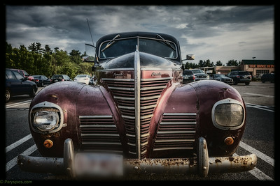 A 1947 plymouth delux