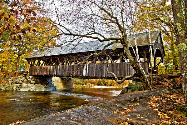 Artist Bridge in Bethal, Maine