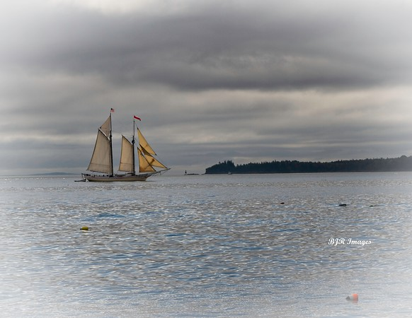 Ship in Rockport, Maine