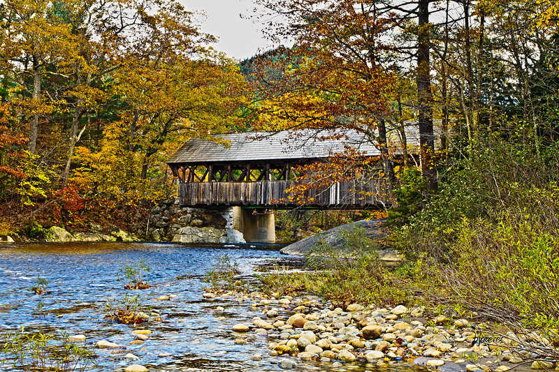 Covered Bridge The Artist Bridge, in Bethal, Maine.