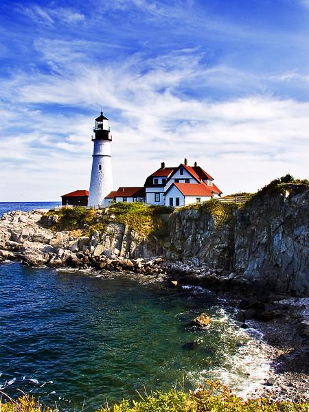 Portland Head Lighthouse in Maine