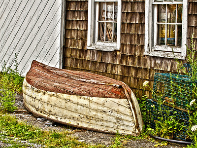 Old boat in Rockland Maine.
