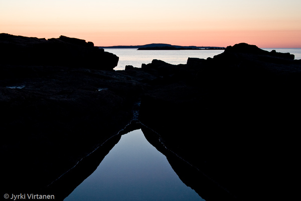 Reflecting Pool at Sunrise - Acadia National Park, ME, USA
