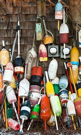 Fishing Buoys II - Rockport, MA, USA