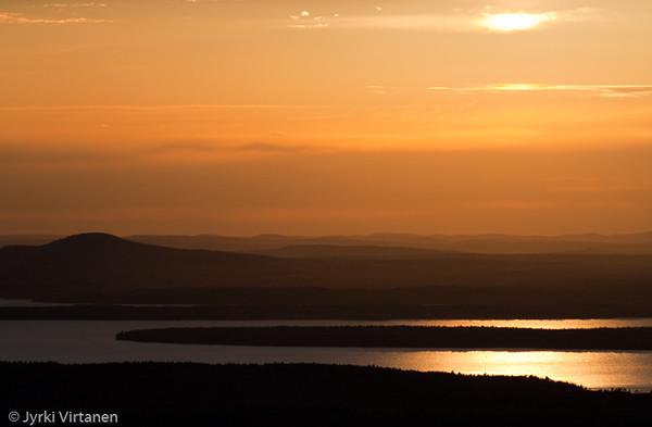 Mt. Cadillac Sunset - Acadia National Park, ME, USA