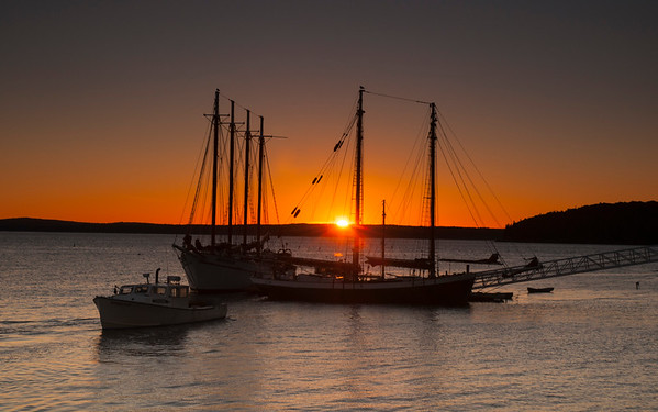Sunrise on Bar Harbor