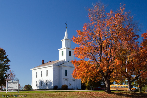 Whiting Community Church - Vermont, USA