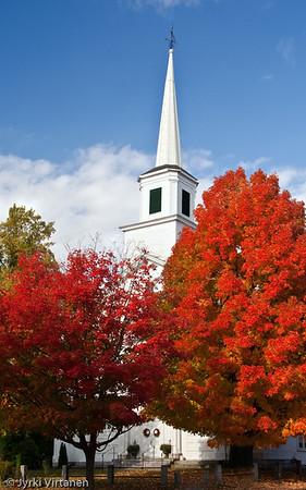 New England Church - Massachusetts, USA