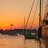 Sunset on Newport Harbor