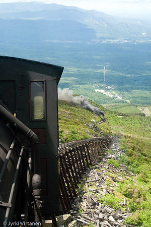Mount Washington Cog Railway - New Hampshire, USA