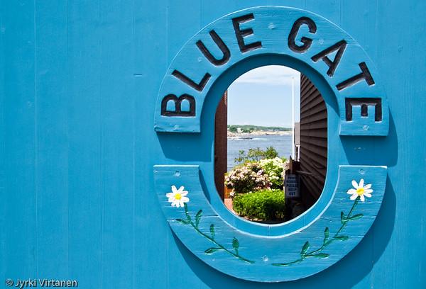 Blue Gate - Rockport, MA, USA