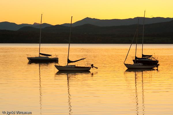 Lake Champlain Sunset - Vermont, USA