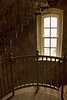 We were fortunate to tour the lighthouse at Cape Disappointment, Washington, between repair construction closures.<br /> Photo © Cindy Clark
