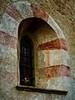 Church window in Kahlenberdorf, Austria.<br /> © Cindy Clark