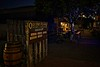 Old town by night in Bandon, Oregon.<br /> © Cindy Clark
