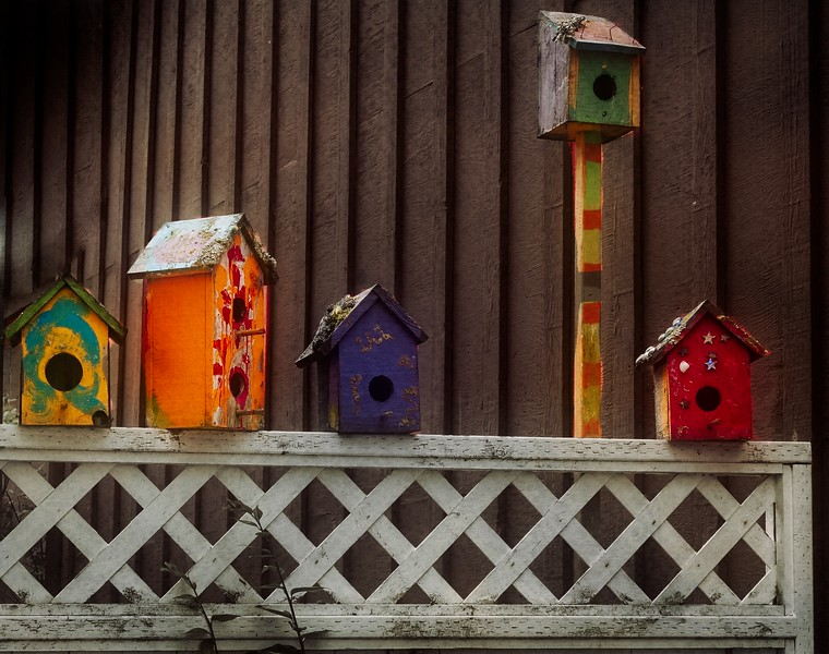 Local whimsy in Coupeville on Whidbey Island, WA.<br /> © Cindy Clark