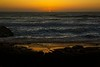 Sunset at the beach in Yachats, Oregon.<br /> © Cindy Clark