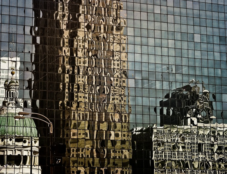 Downtown St. Louis, taken in March days  before the pandemic lockdown.<br /> © Cindy Clark