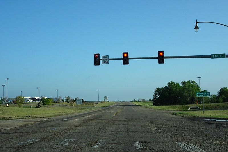 Not so fast. Leaving Guymon, Oklahoma.<br /> ©Carl Clark
