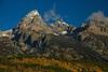 Autumn in the Tetons.<br /> Photo © Carl Clark