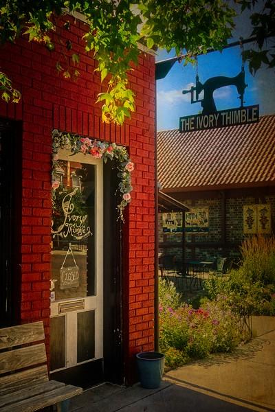 Storefront, Lindsborg, Kansas.<br /> © Cindy Clark