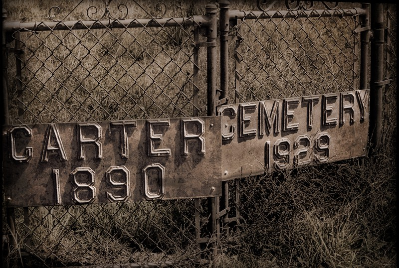 My hometown Guymon, Okla, was incorporated in 1901. This was the area's first cemetery. <br /> © Cindy Clark