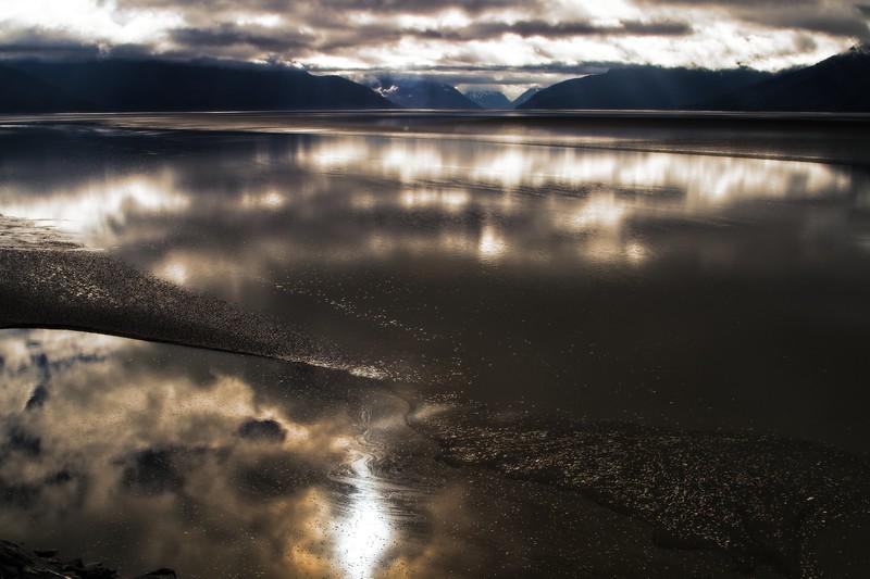 Special effects extravaganza on Turnagin Arm near Anchorage, Alaska.<br /> ©Carl Clark
