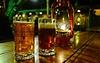 Great steaks, great beer! Cottonwood Steakhouse in Bluff, Utah.<br /> Photo © Cindy Clark